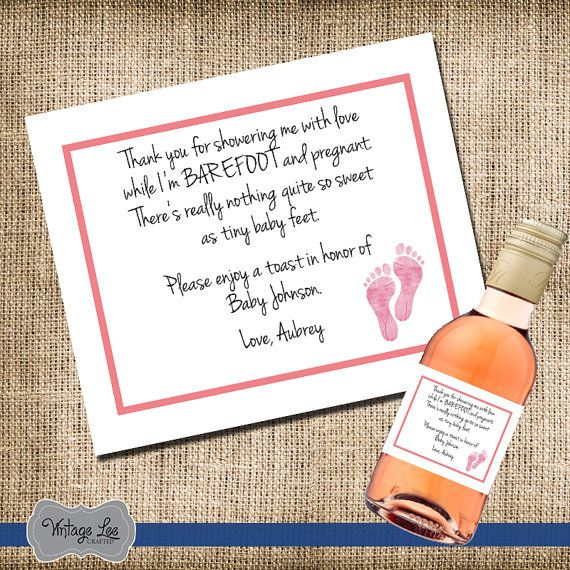 baby shower thank you gifts for hostess