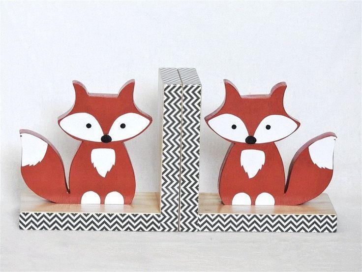 Fox Orange -  Bookends