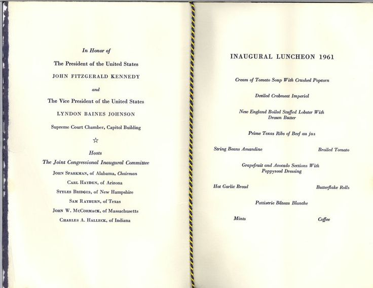 Luncheon menus from 1958 - Google Search