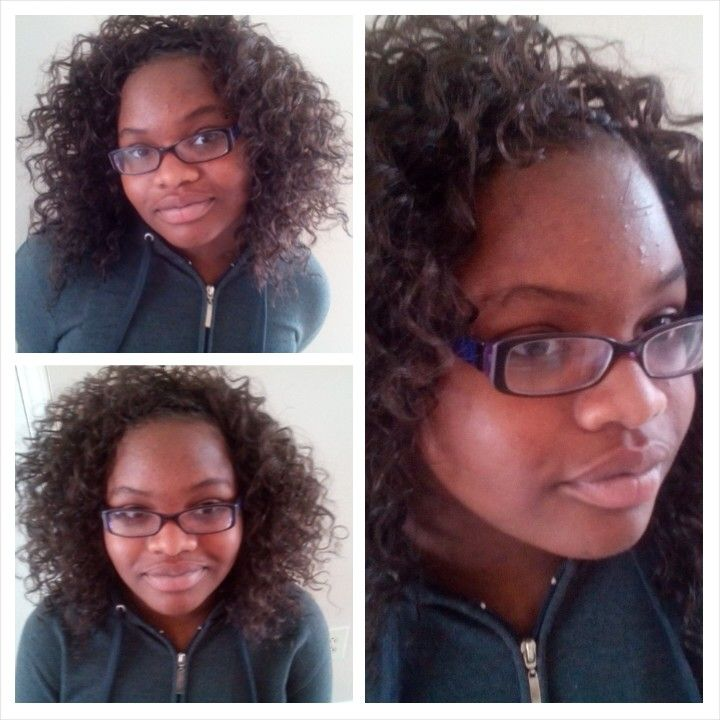 Crochet Braids Old School : Its back to school for this 13 year/ old. Wearing Freetress Presto ...