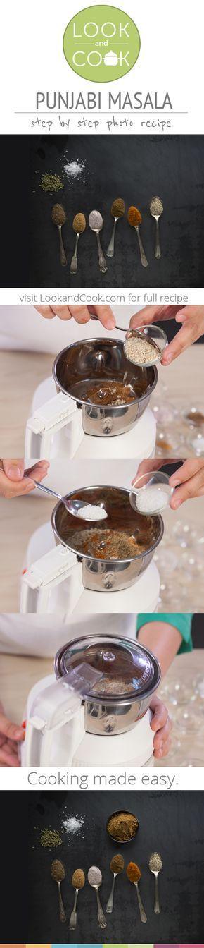 PUNJABI MASALA RECIPE Punjabi Masala (#LC14168): Get step by step photo recipe at lookandcook.com