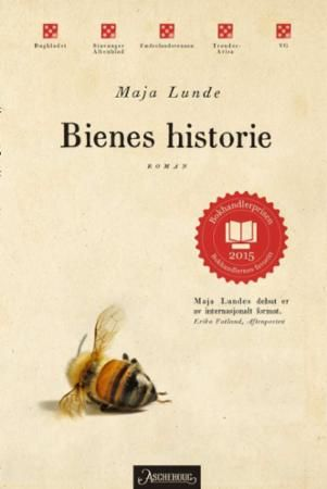 """Bienes historie - roman"" av Maja Lunde #på lista nå"
