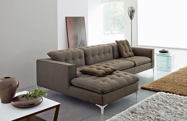 contemporary modular sofa GRACE ROMANTIC by S.Cavazzana Calligaris Italian home design since 1923