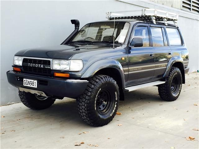 Toyota Land Cruiser VX 4.2 D/Turbo 1991 | Trade Me