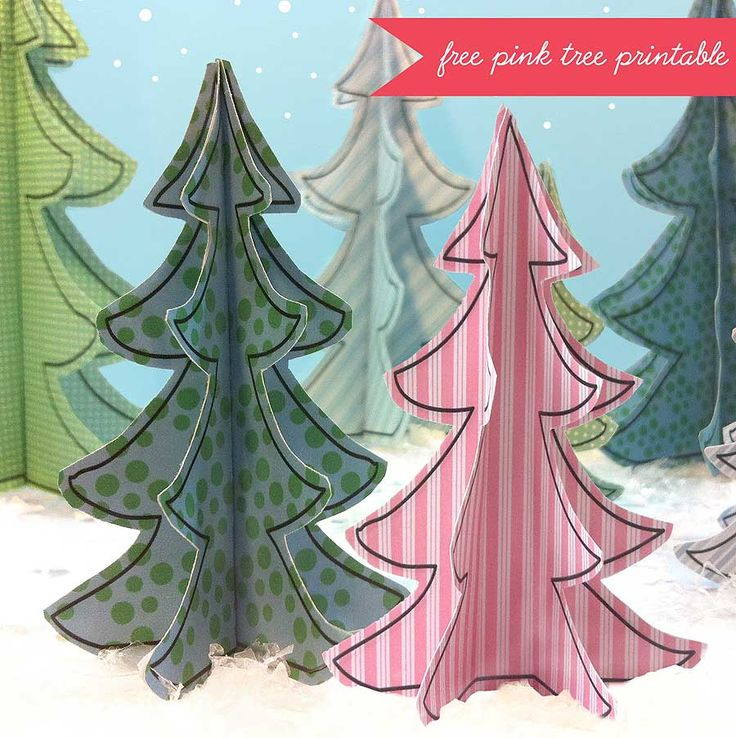 199 best Christmas Printables images on Pinterest Free printable - free christmas tree templates