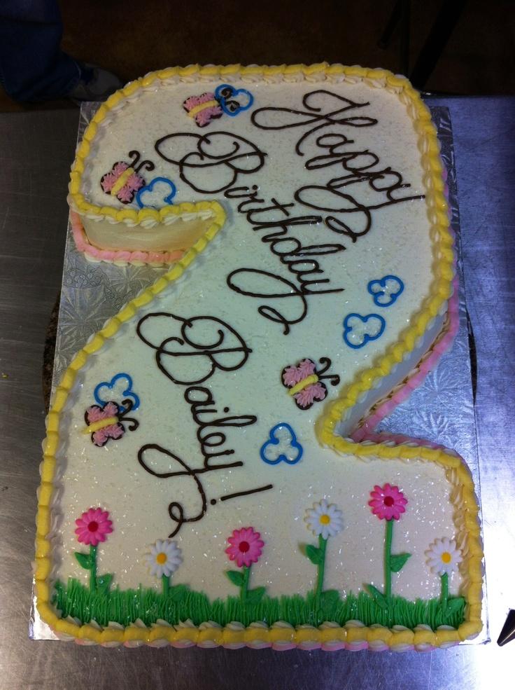 """""""2""""nd Birthday Cake"""
