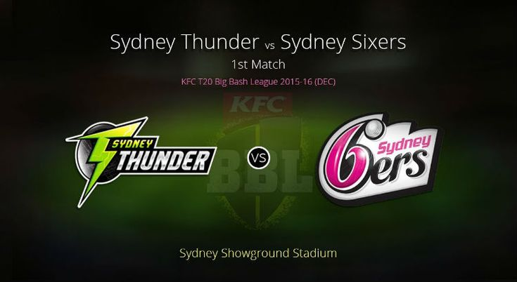 Get Sydney Thunder vs Sydney Sixers Betting Tips and Today Match Prediction at http://www.cricketbattips.com/sydney-thunder-vs-sydney-sixers-betting-tips/