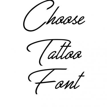 Great Day Tattoo Font