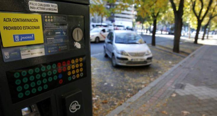 Aparcar en Madrid en zona azul y zona verde será más caro para los que más contaminen