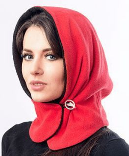 """Headgear of the hood. The idea from the """"all genius is simple."""""""