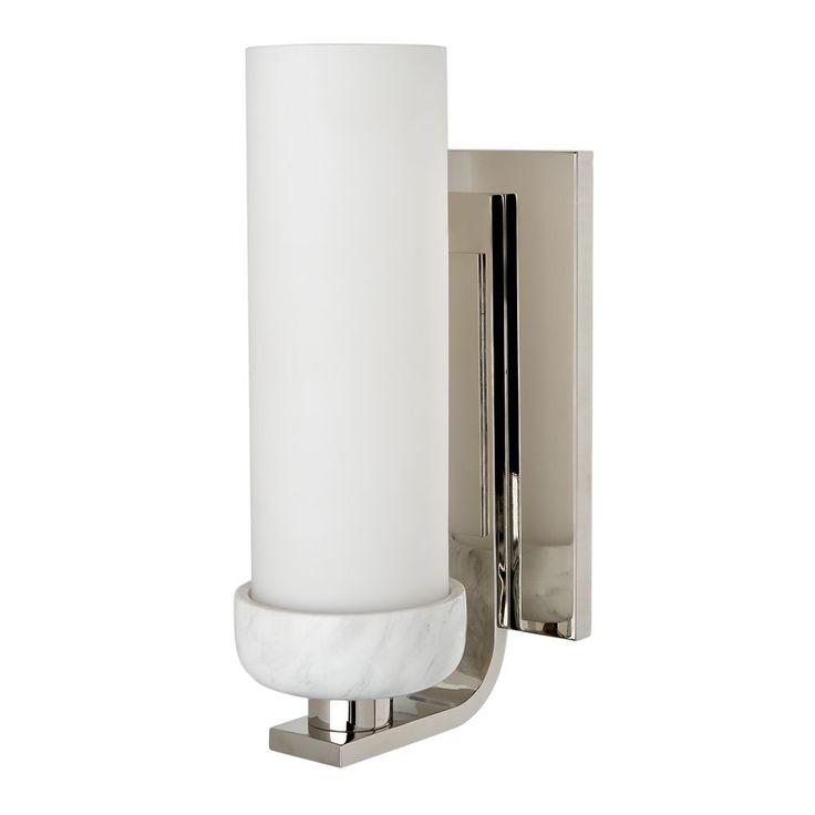 Bathroom Wall Mounted Sconces 73 best bathroom sconces images on pinterest | bathroom sconces