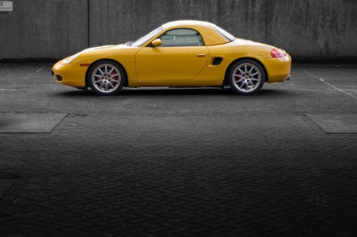 Porsche Boxster 986 with hardtop