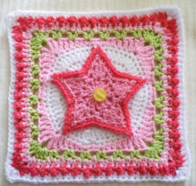 249 Best Crochet Granny Square Patterns Motifs Images On Pinterest
