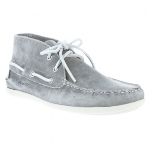 SALE - Mens Sebago Ankle Boots Gray Leather - Was $146.15 - SAVE $58.00. BUY Now - ONLY $87.69