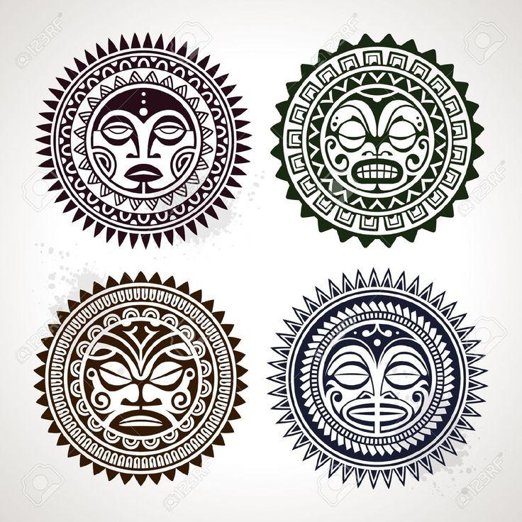 polynesian mask - Google Search