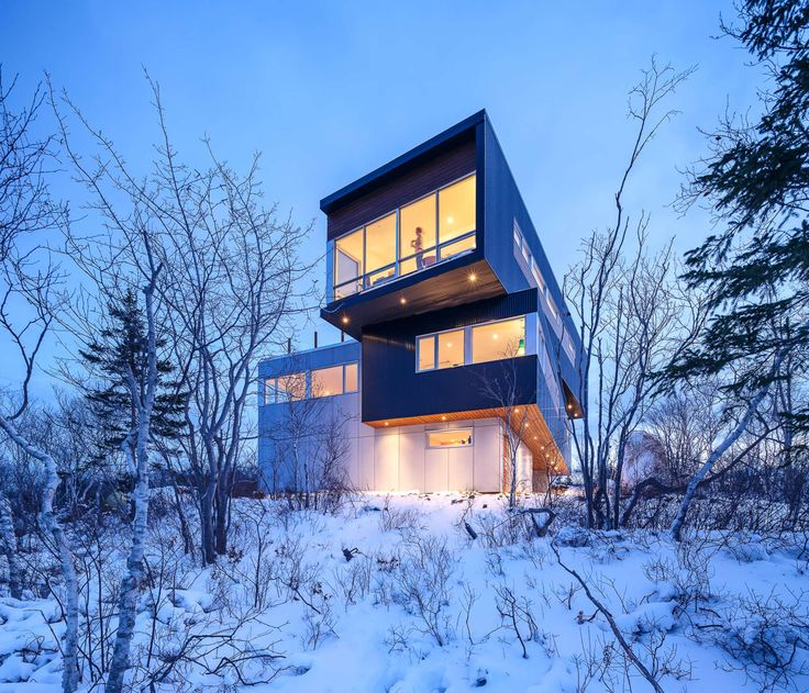 Omar Gandhi Architect Designs a Cozy Home with Stunning Views over Purcells  Cove in Halifax  Canada74 best Cantilever images on Pinterest   Architecture  . Modern Home Decor Stores Canada. Home Design Ideas