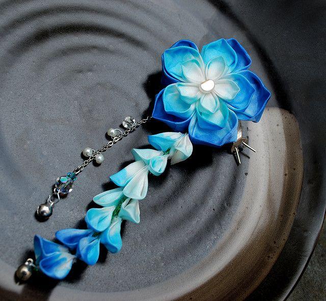 Japanese Kanzashi  Flower!