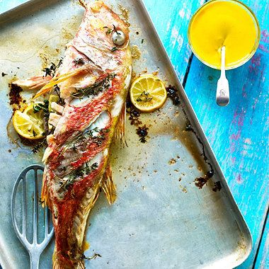 Grilled Red Mullet with Saffron Aioli recipe - From Lakeland