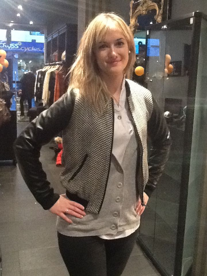 Great jacket to have in your wardrobe.  Drop in at Mara Cino they will help you with personalised shopping.