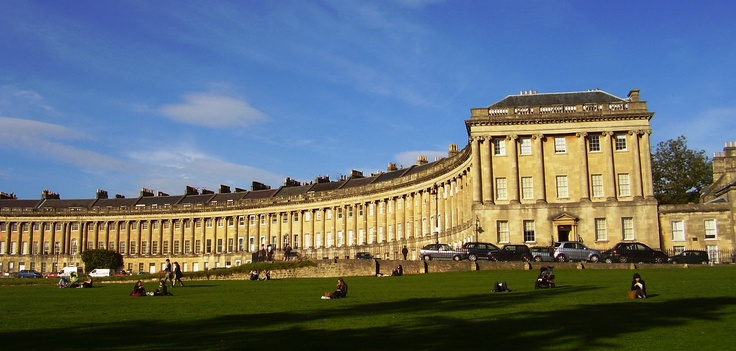 The Royal Crescent at Bath, Enghand