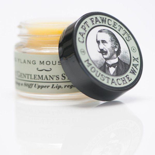 Moustache Wax Ylang Ylang - Cera de Moldeado para Bigote - Capt. Fawcett