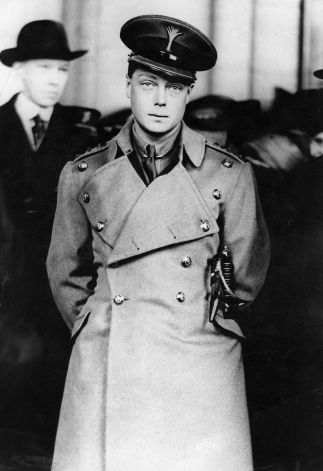 THE PRINCE OF WALES, who abdicated as King Edward VIII visits Washington, D.C. He never visited as a monarch, however. (1919)