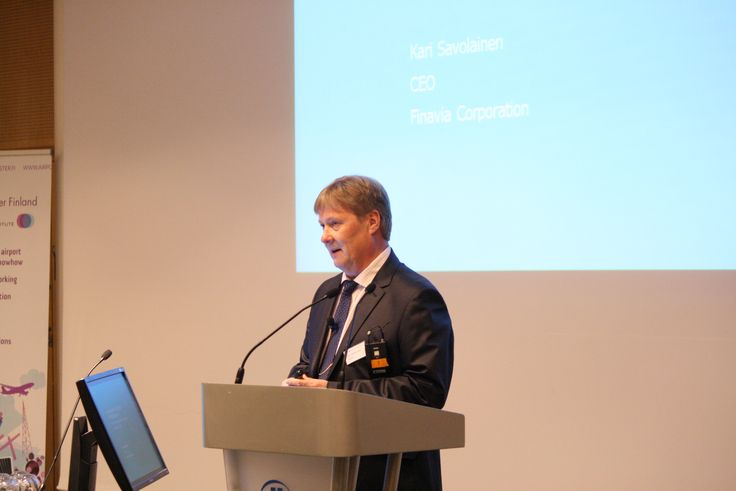 We had the pleasure of having CEO of Finavia speaking at our annual seminar