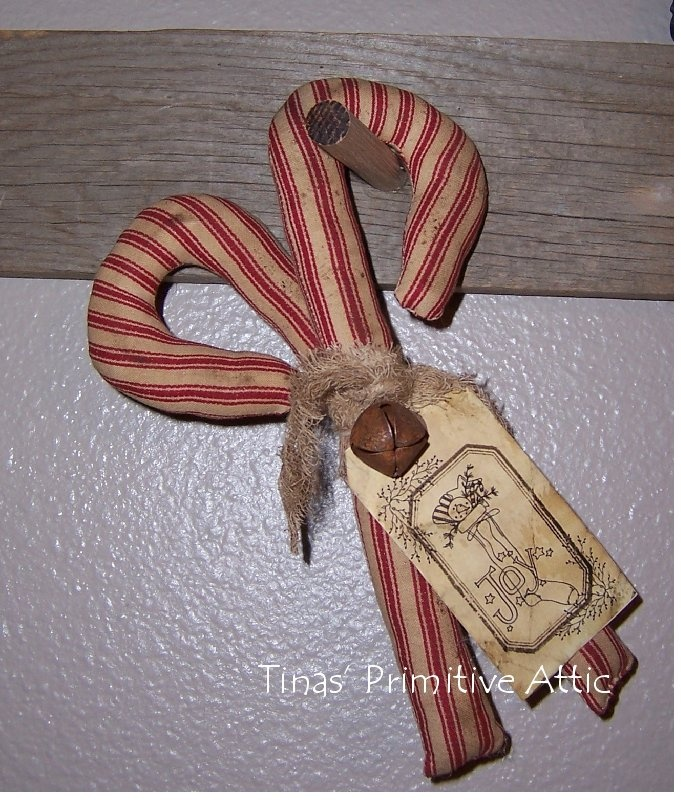 876 best primitive christmas crafts images on pinterest primitive primitive candy canes all of my handmades can be found on fb under tinas primitive attic primitive christmas publicscrutiny Choice Image