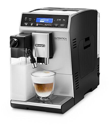 DeLonghi ETAM 29.660.SB Coffee Maker (Freestanding, Coffee Beans, Ground Coffee, Fully-Auto, Espresso Machine Delonghi Autentica Cappuccino Bean To Cup Coffee Machine With FREE Set Of 6 Creamy Collection Glasses (Barcode EAN = 8004399328686). http://www.comparestoreprices.co.uk/december-2016-3/delonghi-etam-29-660-sb-coffee-maker-freestanding-coffee-beans-ground-coffee-fully-auto-espresso-machine.asp