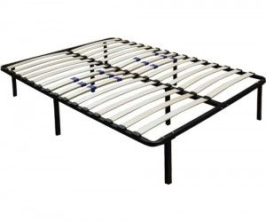 walmart premier flex platform bed frame with adjustable lumbar support multiple sizes