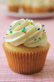 VANILLA CUPCAKE RECIPIE Ingredients : makes 12 big cupcakes 300g butter 300g caster sugar 300g self raising flour Splash of milk 1tsp vanilla essence  METHOD Preheat oven at 180 degrees on fan. Make sure the oven is hot when you put them in. Place them on the middle oven shelf for 20 minuets. They may need longer it just depends on your oven or how much mix you place in the cases. TOPPING 100g butter  (you may need more) 300/400g icing sugar  Put the buttercream in the fridge until you…
