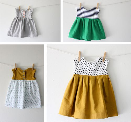 Lacey we should learn how to make these for maddie!!! baby dress sewing pattern