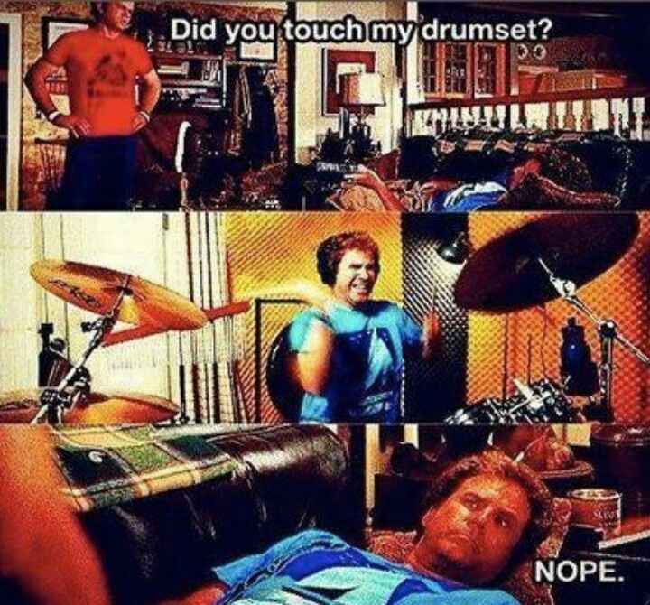 Step Brothers Quotes Drum Set: 43 Best Images About Step Brothers On Pinterest