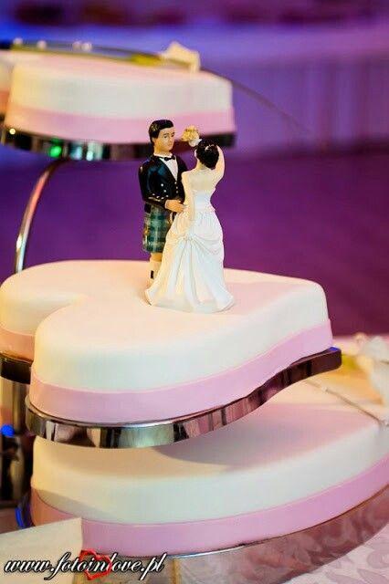 Scotish wedding cake, wedding planner www.eventbyev.pl