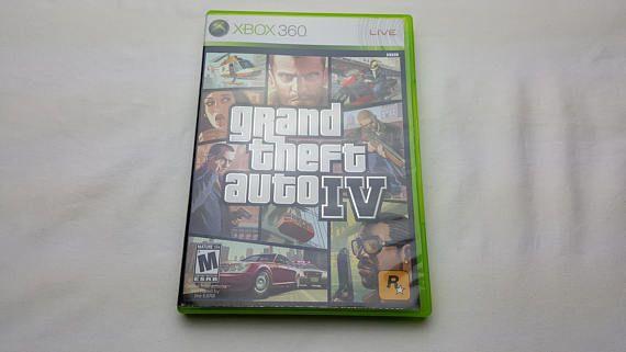 Grand Theft Auto IV GTA 4 by Rockstar Games for Microsoft Xbox