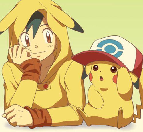 chicas animes pikachu - Buscar con Google