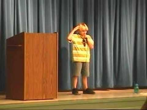 5th Grade Vice Presidential Winning Speech
