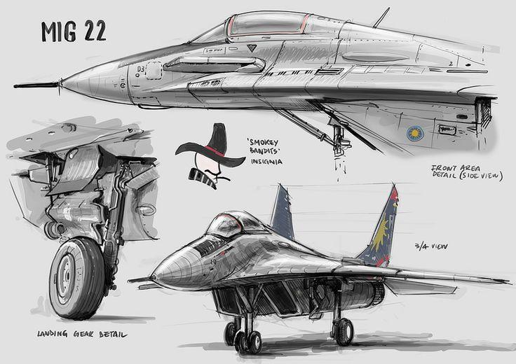 Feng Zhu Diseño: Trabajo Estudiantil - Aeronaves