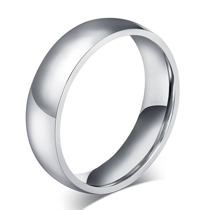 Mens Womens Forever Love Promise Couples Rings for Him or Hers Classic Titanium Steel Wedding Engagement Bands... >>> Visit the image link more details.