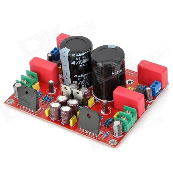 NE5532 / LM3886 Hi-Fi 2-Channel 2 x 68W High-Fidelity Amplifier Board - Red + Black (AC 28V). Model NE5532 / LM3886 Colors Red + black Quantity 1 Type Module Material Double sided board Total Power 2 x 68W Impedance +/- 1% 5-ring metal film resistor Signal to Noise Ratio(SNR) +/- 1% dB Sensitivity >=4 ohm Channels 2 Power Supply 28V Interface No Other Features Voltage: AC 28V, 5.5A; Compact and reliable speaker protection pcb suitable for most of the amplifier. Their compact design made them…