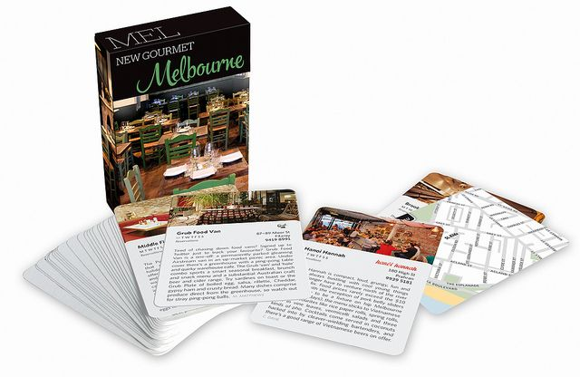 New Gourmet Melbourne ISBN 9781921074202 A guide to 52 of the best new restaurants in Melbourne.