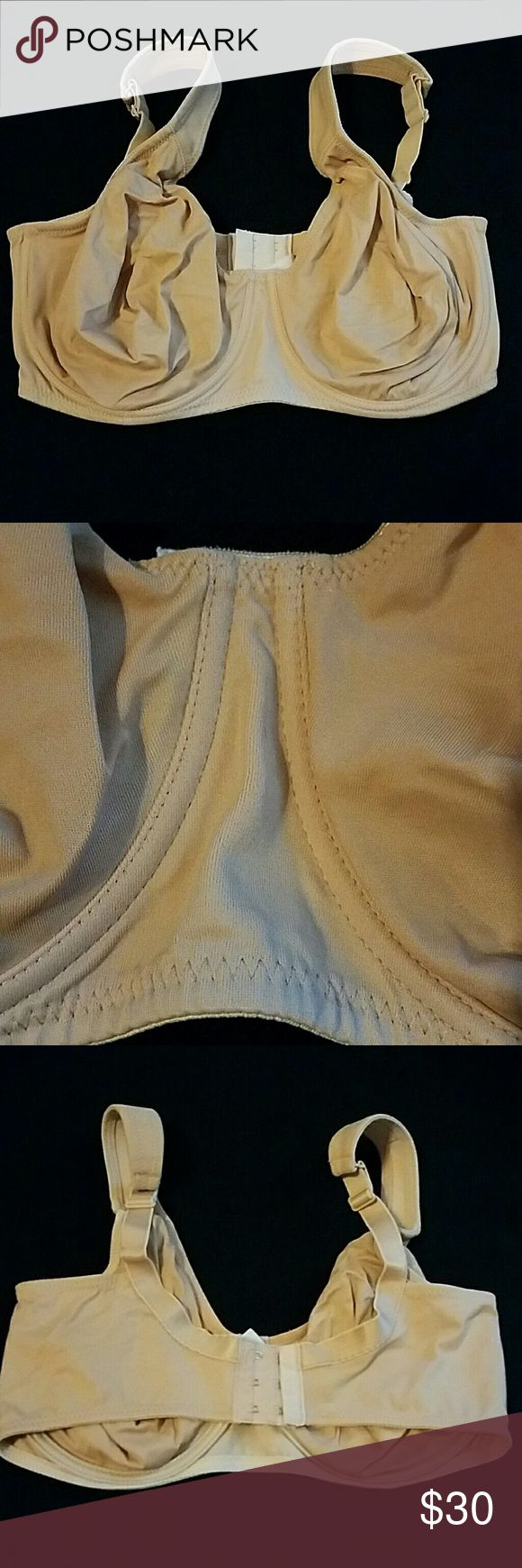 36G Rosa Faia Double Lined Bra Nude soft cup 36G.  Tag is faded but otherwise in great shape! Rosa Faia Intimates & Sleepwear Bras