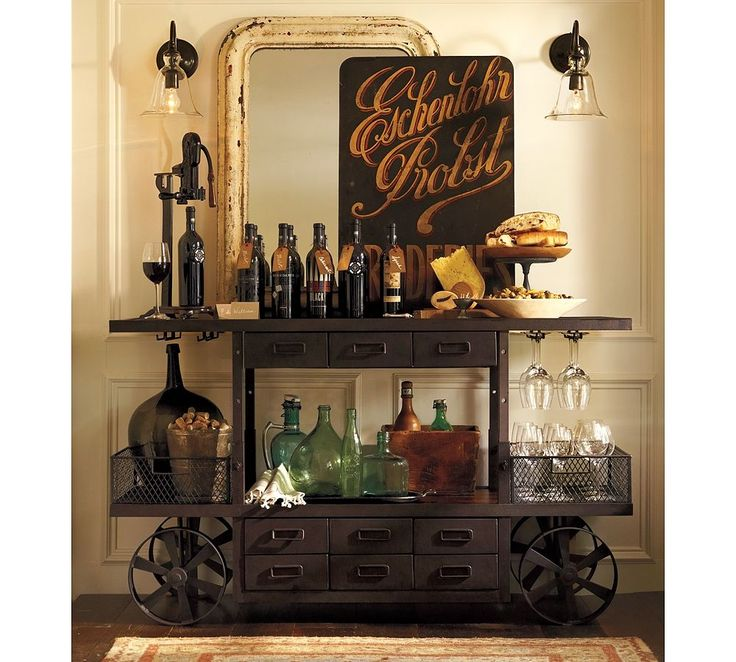 Decorando com mobili rio industrial vintage - Mobiliario industrial vintage ...