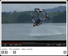 MJ on his Switch Combats. Check out MJs Double Bel Air!! #mj #marcjacobs #switchkites #combat #switch #video