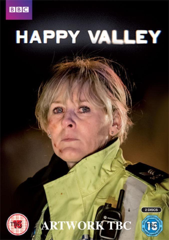 DVD SERIES 163 - Happy Valley (2014) Reino Unido. Drama. Thriller. Sinopse:  segue a Catherine, unha sarxento da policía con experiencia e moi traballadora que dirixe un equipo de axentes nun val rural de Yorkshire. Ademais é unha aflixida nai que coida do seu neto orfo.