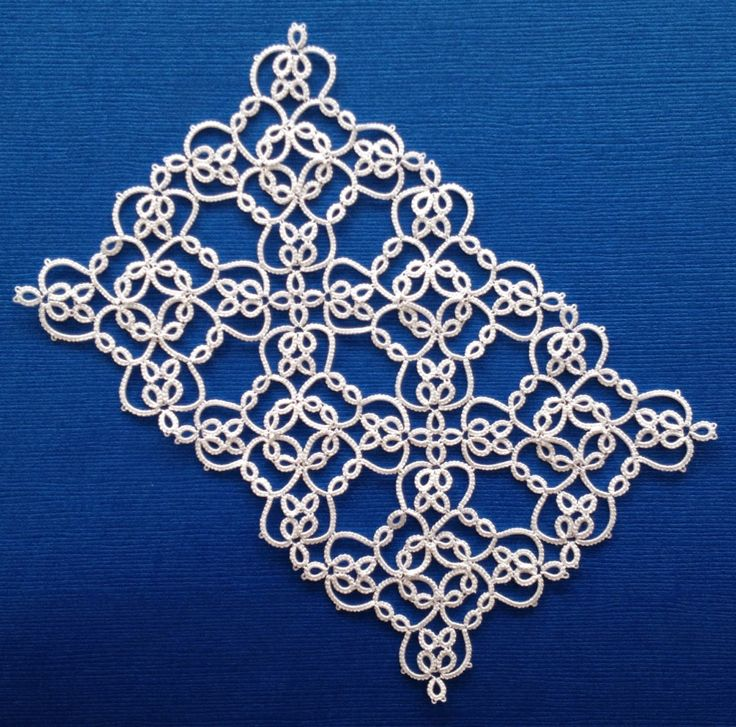 Tatting by the Bay: More Squares and Upcoming Inkscape Tips