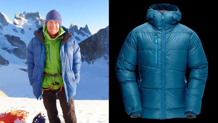 For the cold times at the belay, resting, bivouacking and just in case of emergency, I bring a nice and thick lyngen down750. This insulation jacket is the best combination of good warmth, and low weight and volume. Buy it here: http://www.norrona.com/en-GB/Products/3170-12/2275/lyngen-down750-jacket-m/