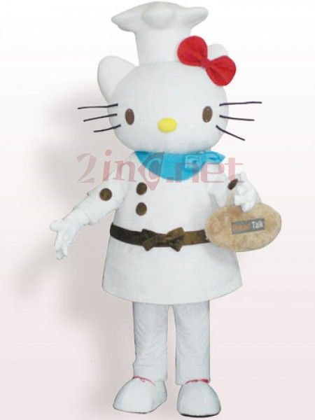 $264.66Bread Cook Hello Kitty Short Plush #Adult #Mascot #Costume
