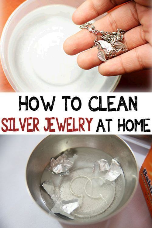 Cleaning jewerly safety at home | Cleaning silver jewelry ...