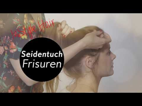 Für Den Bad Hair Day 2 Frisuren Mit Seidentuch Youtube Haare